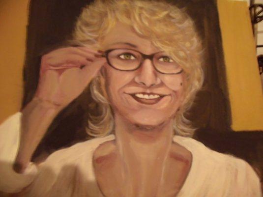 Autoritratto dell'Artista Anna Cibotti