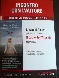 """Giovanni Cocco presenta """"Il bacio dell'Assunta"""""""