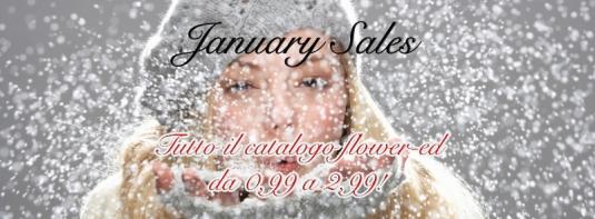 Le promozioni di gennaio della Flower-ed
