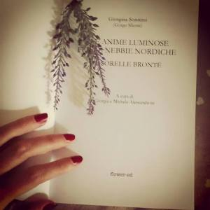 Frontespizio del saggio dedicato alle sorelle Brontë