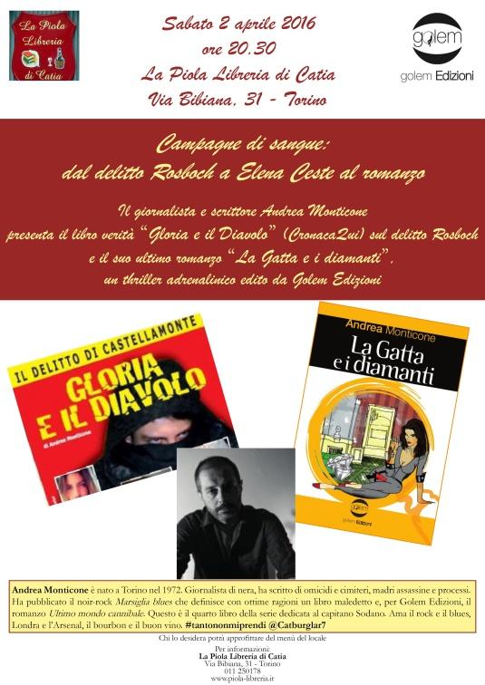 Locandina evento La Piola Libreria di Catia