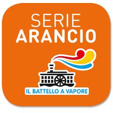 """Logo della Serie Arancio de """"Il Battello a Vapore"""""""