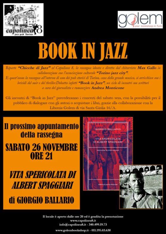 Giorgio Ballario a Book in Jazz