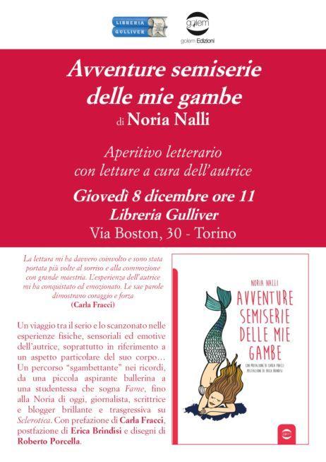Aperitivo letterario in compagnia di Noria Nalli