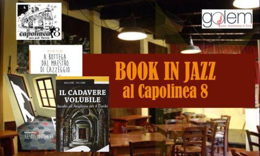 Book in Jazz al Capolinea 8 del 10 dicembre