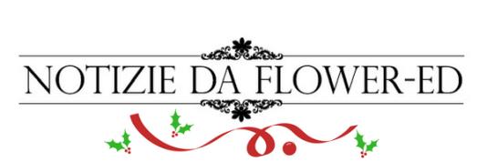 Logo flower-ed per le feste