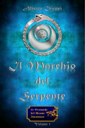 """Copertina de """"Il Marchio del Serpente"""" di Alberto Chieppi"""