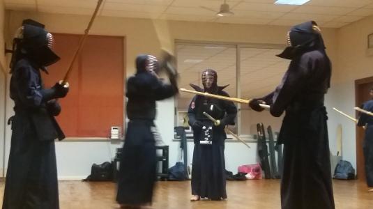 Kendo - scene da un combattimento