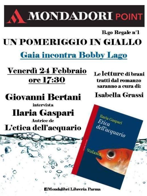 Locandina Gaia incontra Bobby Lago