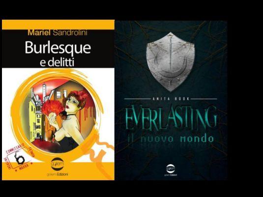 Copertine dei romanzi di Mariel Sandrolini e Anita Book