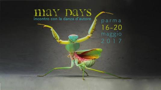 """""""May Days - Incontro con la danza d'autore"""", locandina evento"""