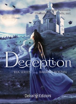 """Copertina romanzo """"Deception"""" di Barbara Bolzan"""