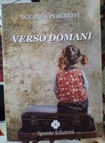 Copertina romanzo Verso domani