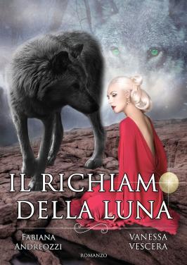 """Copertina romanzo """"Il Richiamo della Luna"""""""