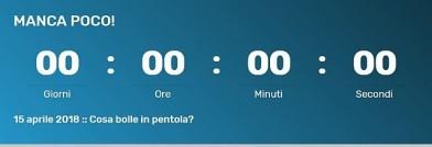 Countdown per Hackathon