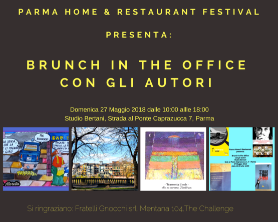 Brunch in the Office con gli autori - libri e mostra
