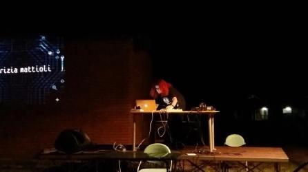 Patrizia Mattioli sul palco