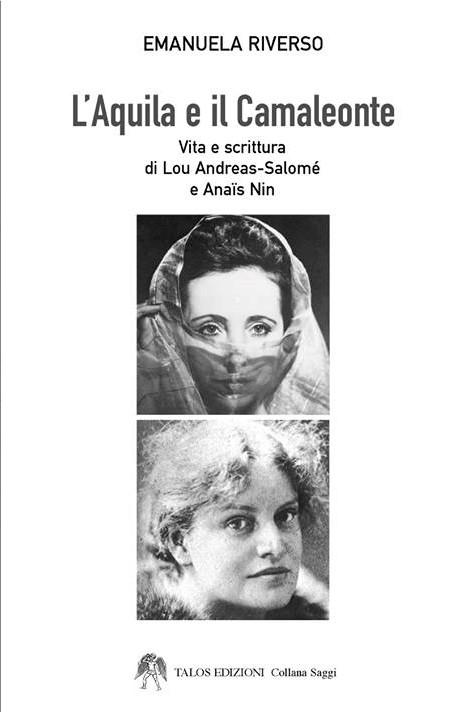 """Copertina de """"L'Aquila e il Camaleonte"""" di Emanuela Riverso"""