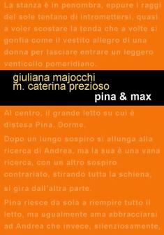 """Copertina anteriore di """"Pina & Max"""""""