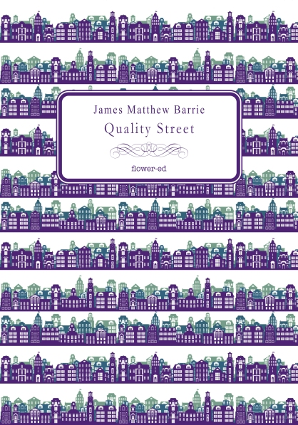 "Copertina ""Quality Street"" di James Matthew Barrie"