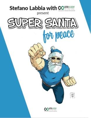 "Copertina di ""Super Santa for Peace"""
