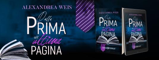 Banner romanzo Alexandrea Weis
