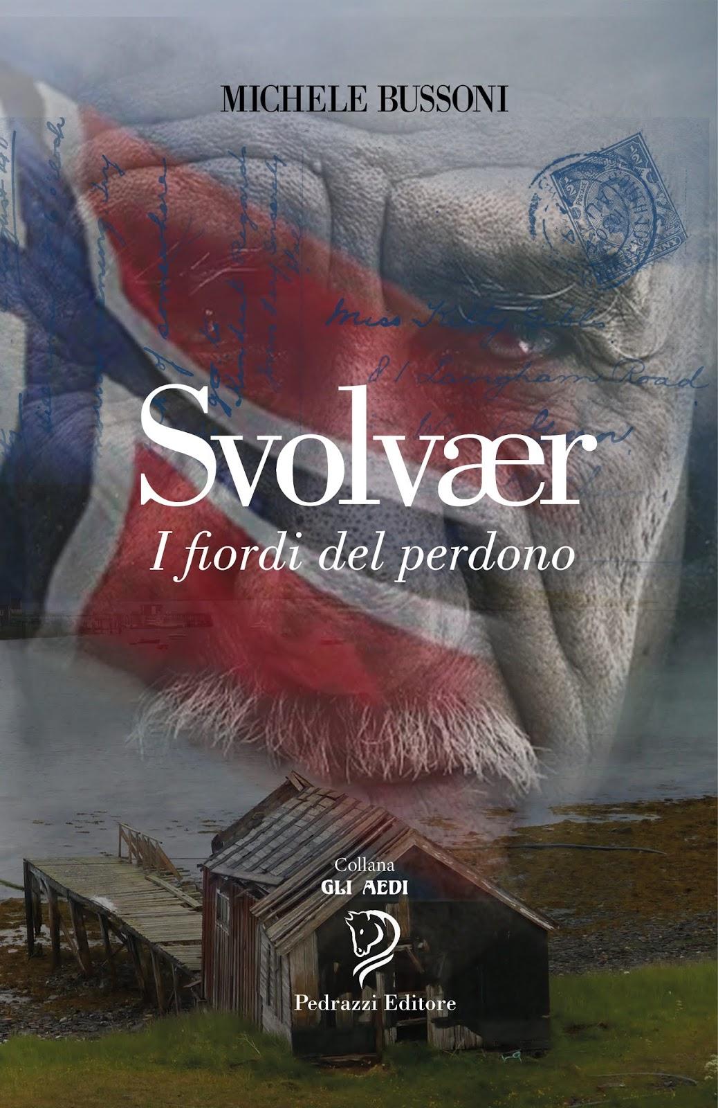 """Copertina romanzo """"Svolvaer. I fiordi del perdono"""""""