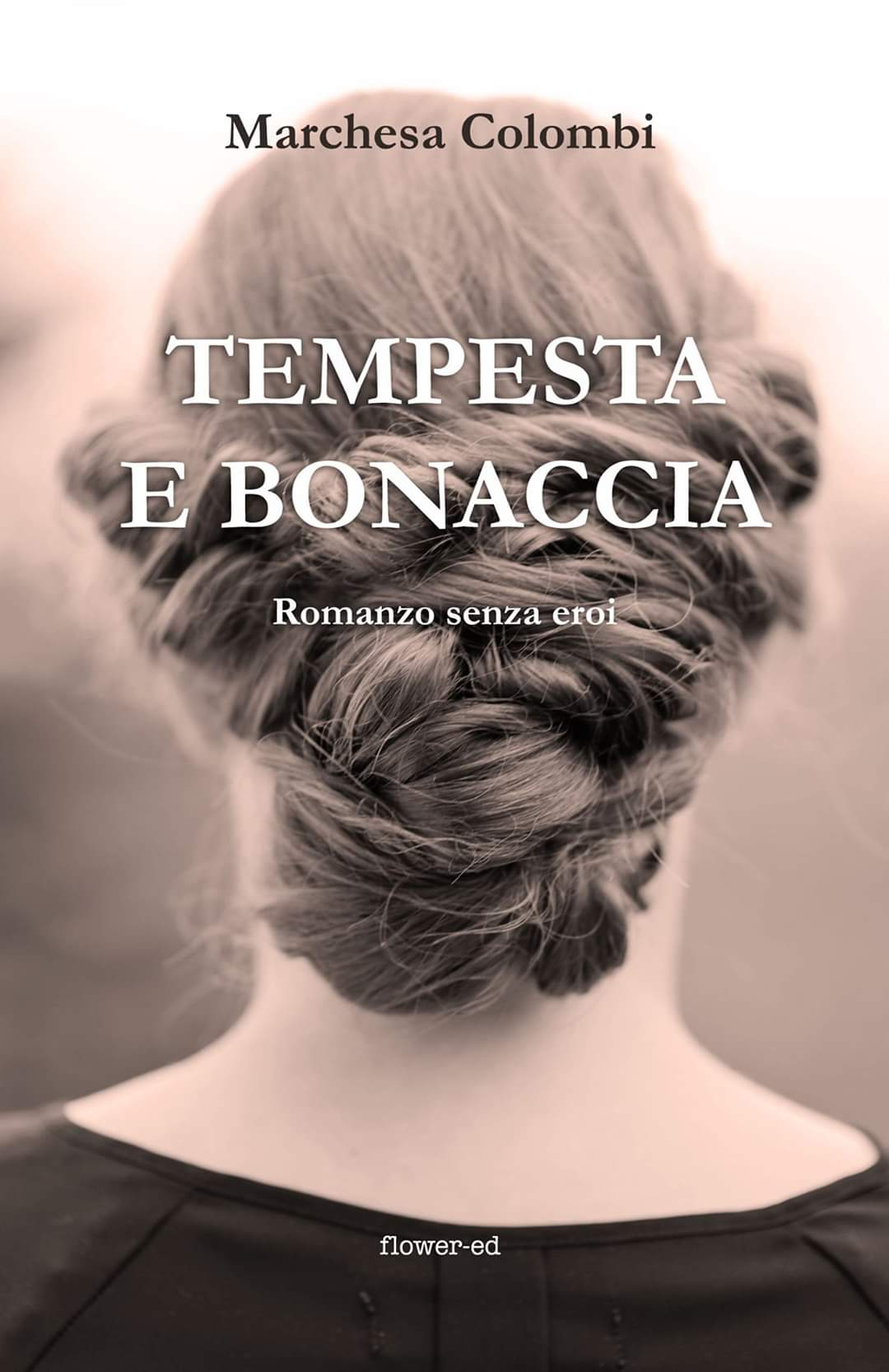 """Copertina romanzo """"Tempesta e bonaccia"""" della Marchesa Colombi"""