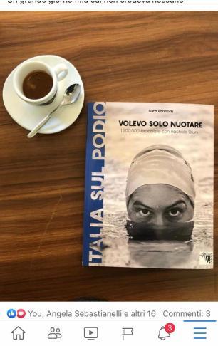 Libro di Luca Farinotti con tazzina di caffé